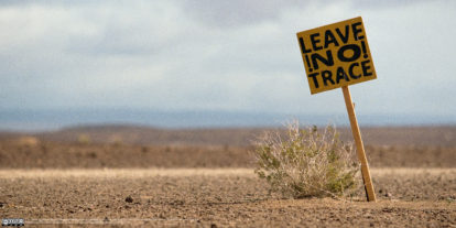 Leave no trace by Diaan Mynhardt